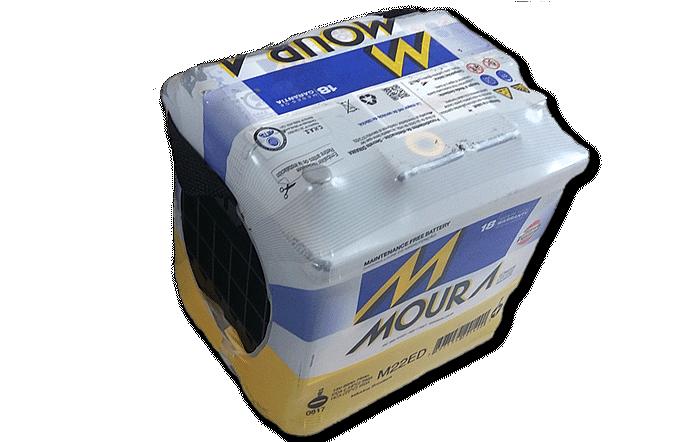 Baterías Zárate | Somos representantes directos de baterías Moura en Salta • Batería Moura 22 ED