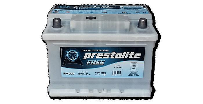 Baterías Zárate | Representantes directos de baterías Prestolite en Salta • Batería Prestolite PA 60 DD