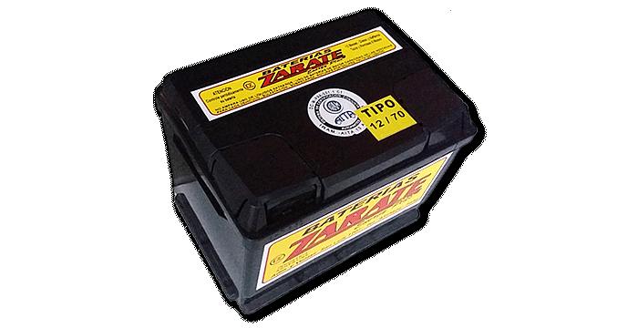 Baterías Zárate | Baterías para todo tipo de vehículos • Batería Zárate 12v X 70 AMP