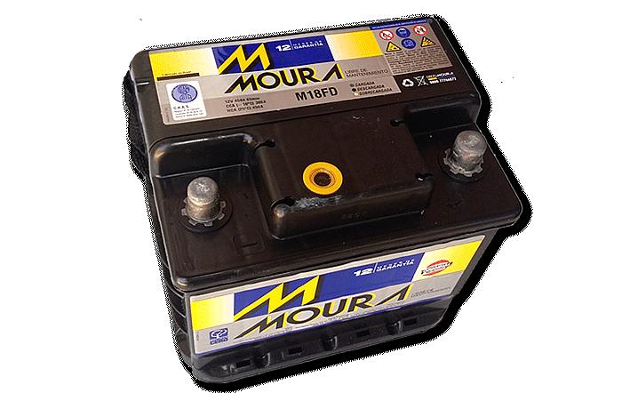 Baterías Zárate | Somos representantes directos de baterías Moura en Salta • Batería Moura 18 FD