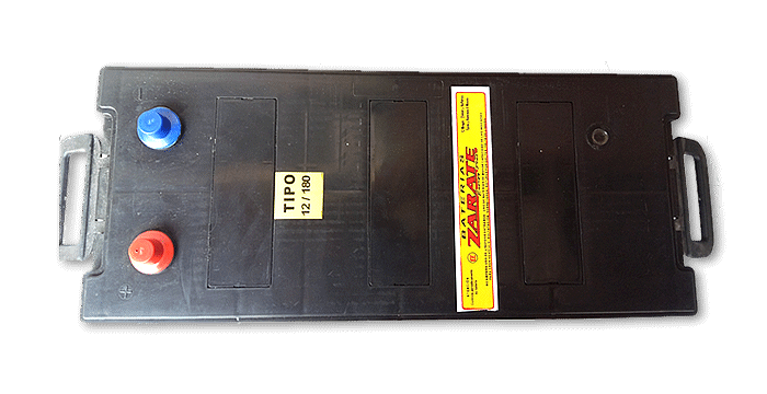 Baterías Zárate | Baterías para todo tipo de vehículos • Batería Zárate 12v X 180 AMP